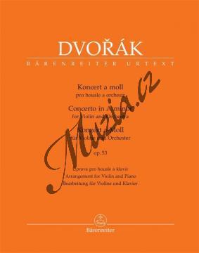 Dvořák Antonín | Koncert a moll pro housle a orchestr op. 53 | Klavírní výtah - Noty pro orchestr - BA10422-90.jpg