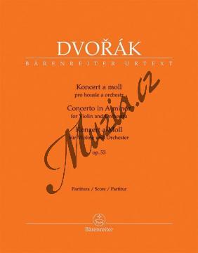 Dvořák Antonín | Koncert pro housle a orchestr a moll op. 53 | Partitura - Noty pro orchestr - BA10422.jpg