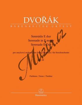 Dvořák Antonín | Serenáda E dur pro smyčcový orchestr op. 22 | Partitura - Noty pro orchestr - BA10423.jpg