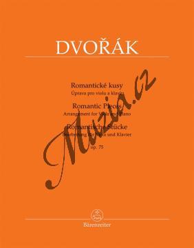 Dvořák Antonín | Romantické kusy op. 75 - úprava pro violu a klavír | Noty na violu - BA10437.jpg