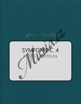 Martinů Bohuslav | Symfonie č. 4, H 305 | Partitura - Noty pro orchestr - BA10572-01.jpg