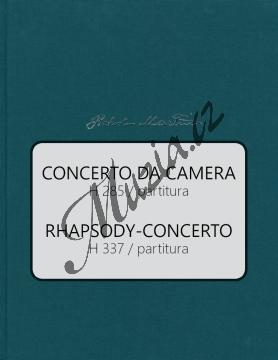 Martinů Bohuslav | Concerto da Camera, Rhapsody-Concerto | Partitura - Noty pro orchestr - BA10578-01.jpg