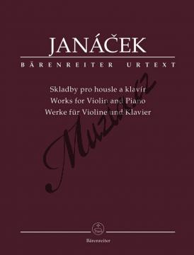 Janáček Leoš | Skladby pro housle a klavír | Noty na housle - BA11512.jpg