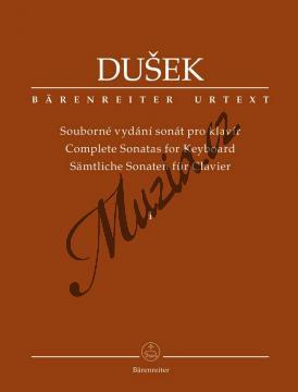 Dušek František Xaver | Souborné vydání sonát pro klavír 1. díl | Noty na klavír - BA11513.jpg