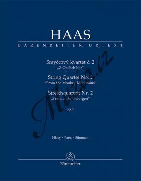 Haas Pavel | Smyčcový kvartet č. 2