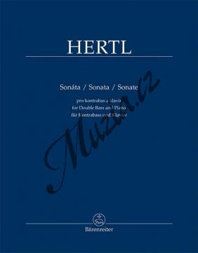 Hertl František | Sonáta pro kontrabas a klavír | Noty na kontrabas - BA11530.jpg