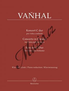 Vaňhal Jan Křtitel | Koncert C dur pro violu a orchestr | Noty na violu - BA11531-90.jpg