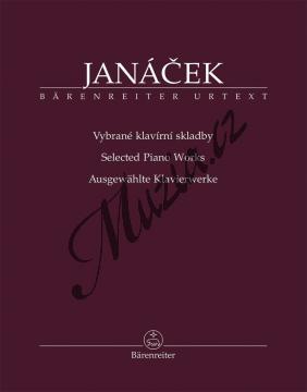 Janáček Leoš | Vybrané klavírní skladby | Noty pro orchestr - BA11545.jpg