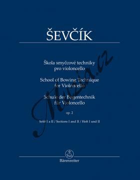 Ševčík Otakar | Škola smyčcové techniky pro violoncello op. 2, sešit I a II | Noty pro orchestr - BA11547.jpg