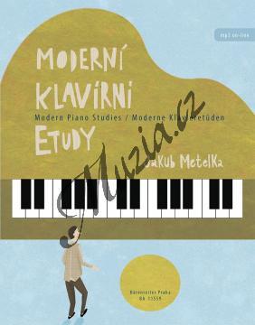 Metelka Jakub | Moderní klavírní etudy | Noty na klavír - BA11559.jpg