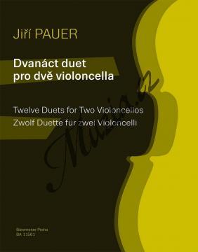 Pauer Jiří | Dvanáct duet pro dvě violoncella | Noty na violoncello - BA11561.jpg