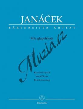 Janáček Leoš | Glagolská mše - Mša Glagolskaja (verze poslední ruky) | Klavírní výtah - Noty pro sbor - BA6862-90.jpg