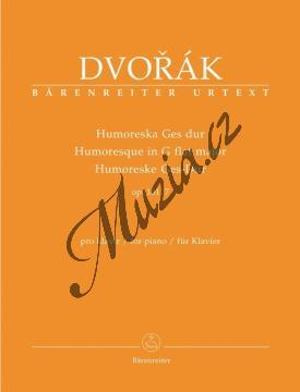 Dvořák Antonín | Humoreska Ges dur op. 101/7 | Noty na klavír - BA9503.jpg