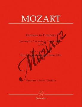 Mozart Wolfgang Amadeus   Fantasia in F minore pro smyčce podle Ein Orgelstück für eine Uhr KV 608   Partitura - Noty pro orchestr - BA9505.jpg