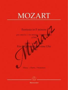 Mozart Wolfgang Amadeus | Fantasia in F minore pro smyčce podle Ein Orgelstück für eine Uhr KV 603 | Set partů - Noty pro orchestr - BA9505a.jpg