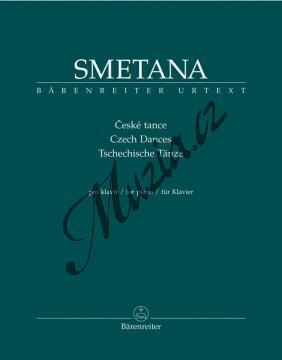 Smetana Bedřich | České tance | Noty na klavír - BA9507.jpg