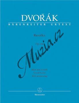 Dvořák Antonín   Rusalka   Klavírní výtah - Noty - BA9510a.jpg