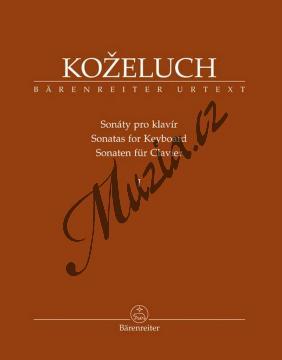 Koželuh Leopold | Souborné vydání sonát pro klavír 1. díl (Sonáty 1-12) | Noty na klavír - BA9511.jpg