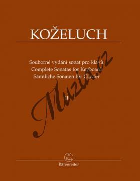 Koželuh Leopold | Souborné vydání sonát pro klavír 2. díl (Sonáty 13-24) | Noty na klavír - BA9512.jpg
