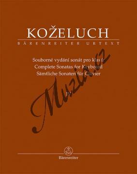 Koželuh Leopold | Souborné vydání sonát pro klavír 4. díl (Sonáty 38-50) | Noty na klavír - BA9514.jpg