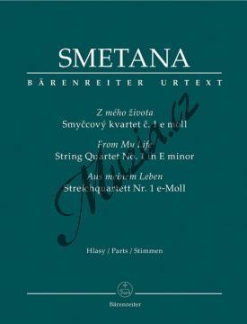 Smetana Bedřich | Smyčcový kvartet č. 1 e moll  Z mého života | Set partů - Noty pro smyčcový kvartet - BA9516.jpg