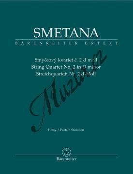 Smetana Bedřich | Smyčcový kvartet č. 2 | Set partů - Noty pro smyčcový kvartet - BA9517.jpg