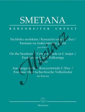 Smetana Bedřich | Na břehu mořském / Koncertní etuda C dur / Fantasie na české národní písně | Noty na klavír - BA9519.jpg