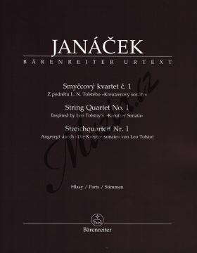 Janáček Leoš | Smyčcový kvartet č. 1 (Z podnětu L. N. Tolstého  Kreutzerovy sonáty ) | Set partů - Noty pro smyčcový kvartet - BA9520.jpg