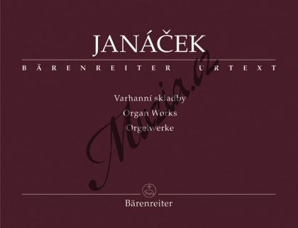 Janáček Leoš | Varhanní skladby | Noty na varhany - BA9524.jpg