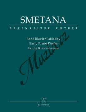 Smetana Bedřich | Rané klavírní skladby | Noty na klavír - BA9527.jpg