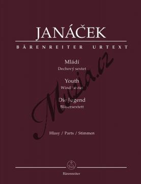 Janáček Leoš | Mládí | Set partů - Noty-komorní hudba - BA9528.jpg
