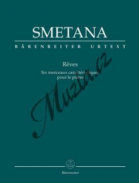 Smetana Bedřich | Sny - Šest charakteristických skladeb pro klavír | Noty na klavír - BA9529.jpg