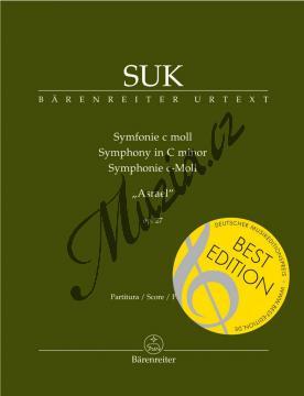 Suk Josef | Symfonie c moll op. 27 Asrael  | Partitura - Noty pro orchestr - BA9532.jpg
