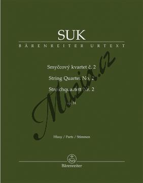 Suk Josef | Smyčcový kvartet č. 2 op. 31 | Set partů - Noty pro smyčcový kvartet - BA9536.jpg