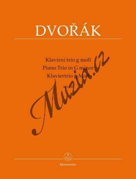 Dvořák Antonín | Klavírní trio g-moll, op. 26 | Partitura a set partů - Noty pro klavírní trio - BA9538.jpg