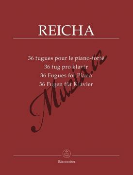 Rejcha Antonín | 36 fug pro klavír | Noty na klavír - BA9541.jpg