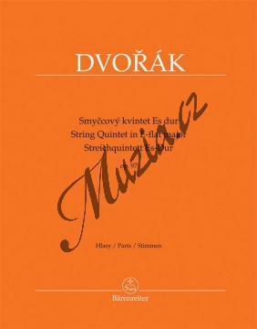 Dvořák Antonín | Smyčcový kvintet Es dur op. 97 | Set partů - Noty pro smyčcový kvintet - BA9542.jpg