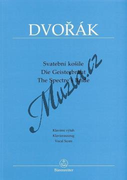 Dvořák Antonín | Svatební košile op. 69 (Balada na text Karla Jaromíra Erbena) | Klavírní výtah - Noty pro sbor - BA9544-90.jpg