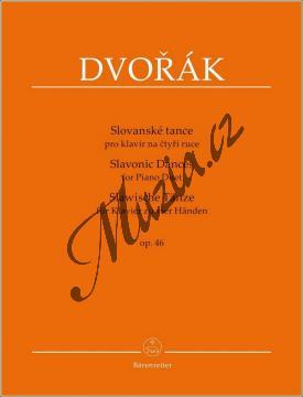 Dvořák Antonín | Slovanské tance op. 46 | Noty na klavír - BA9547.jpg