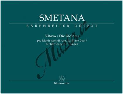 Smetana Bedřich | Vltava pro klavír na čtyři ruce - symfonická báseň z cyklu Má vlast | Noty na klavír - BA9549.jpg