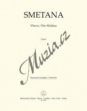 Smetana Bedřich | Vltava | Harmonie - Noty pro orchestr - BA9558-65.jpg