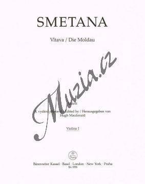 Smetana Bedřich | Vltava | Part-Housle 1 - Noty pro orchestr - BA9558-74.jpg