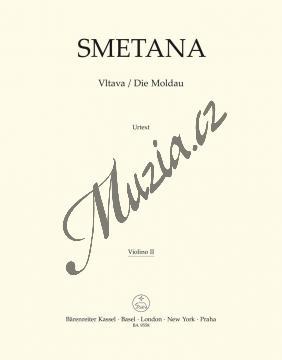 Smetana Bedřich | Vltava | Part-Housle 2 - Noty pro orchestr - BA9558-75.jpg