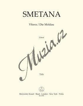Smetana Bedřich | Vltava | Part-Viola - Noty pro orchestr - BA9558-79.jpg