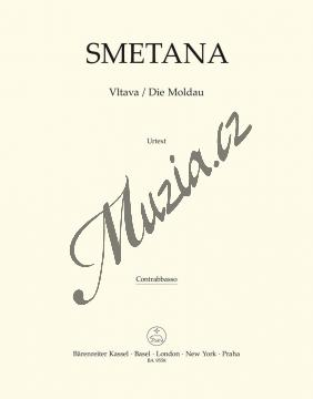 Smetana Bedřich | Vltava | Part-Kontrabas - Noty pro orchestr - BA9558-85.jpg