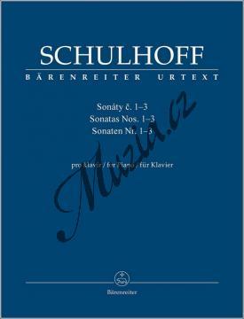 Schulhoff Erwin | Sonáty č. 1-3 | Noty na klavír - BA9560.jpg