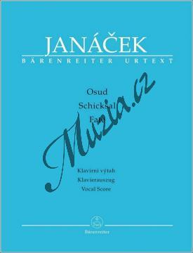 Janáček Leoš | Osud - opera o třech dějstvích | Klavírní výtah - Noty - BA9562-90.jpg