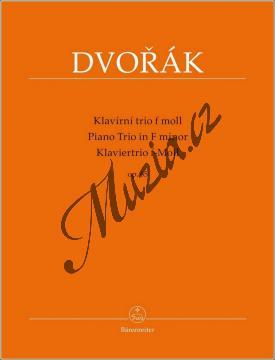 Dvořák Antonín   Klavírní trio f moll op. 65   Partitura a party - Noty na klavír - BA9564.jpg
