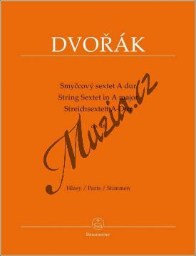 Dvořák Antonín | Smyčcový sextet A dur op. 48 | Set partů - Noty pro smyčcový sextet - BA9566.jpg