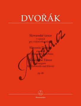 Dvořák Antonín | Slovanské tance v úpravě pro violoncello a klavír Opus 46 | Noty na violoncello - BA9568.jpg